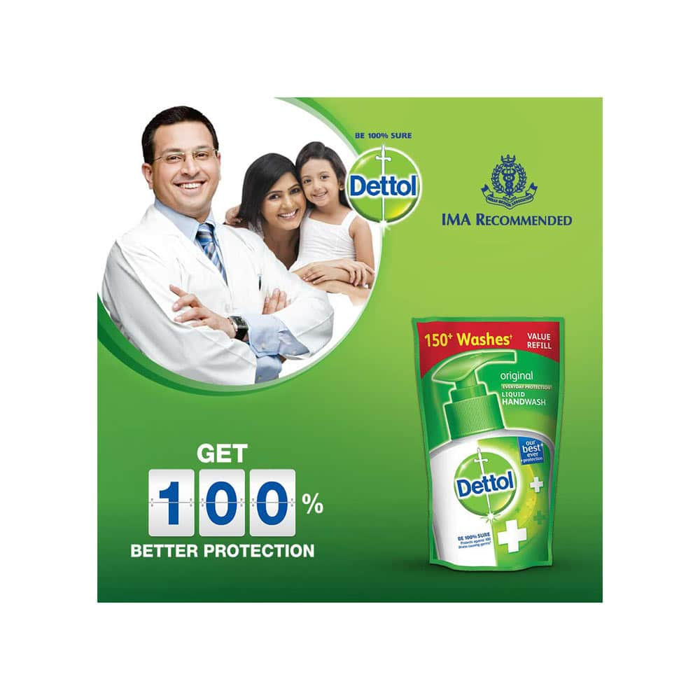 Dettol Original Handwash Refill Series Package